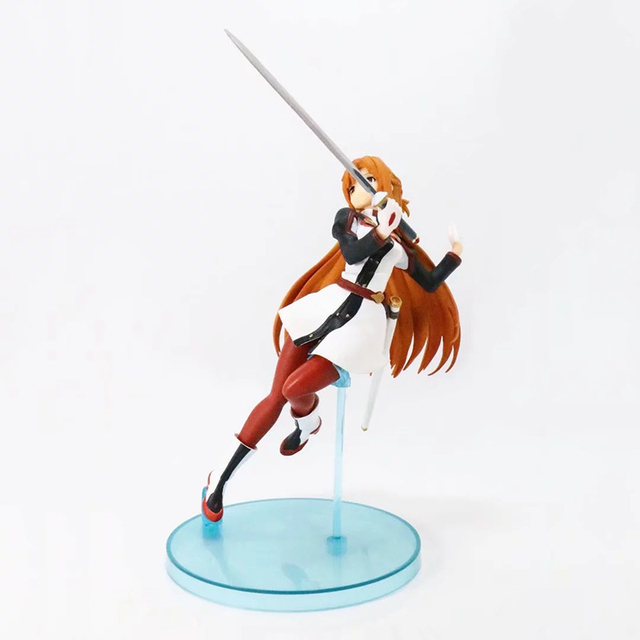 Anime Sword Art Online Asuna 1/7 scale painted figure Fighting Ver. Yuuki Asuna Model Gifts no retail box (Chinese Version) 1