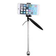 Высокое Качество 2in1 Карманный Ручной стабилизатор Видео Steadycam Камеры Подставка для Телефона Камера для Gopro/для Xiaoyi SJCAM Камеры