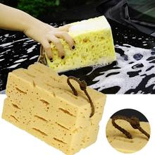 Car Cleaning Sponge Honeycomb Big Macroporous Sponge Motorcycle Brush Washer Truck SUV Auto Car Care Cleaning Tool Accessories