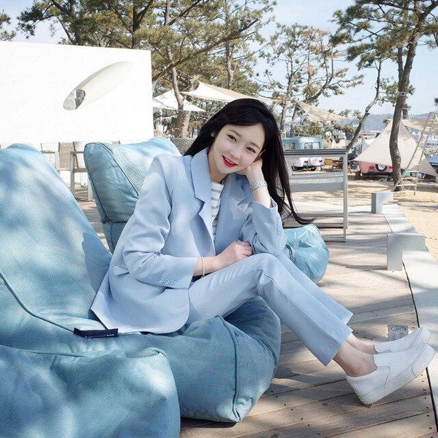 2017 new arrival women's casual clothes suit office business suits formal uniform style elegant fashion two piece set B 151