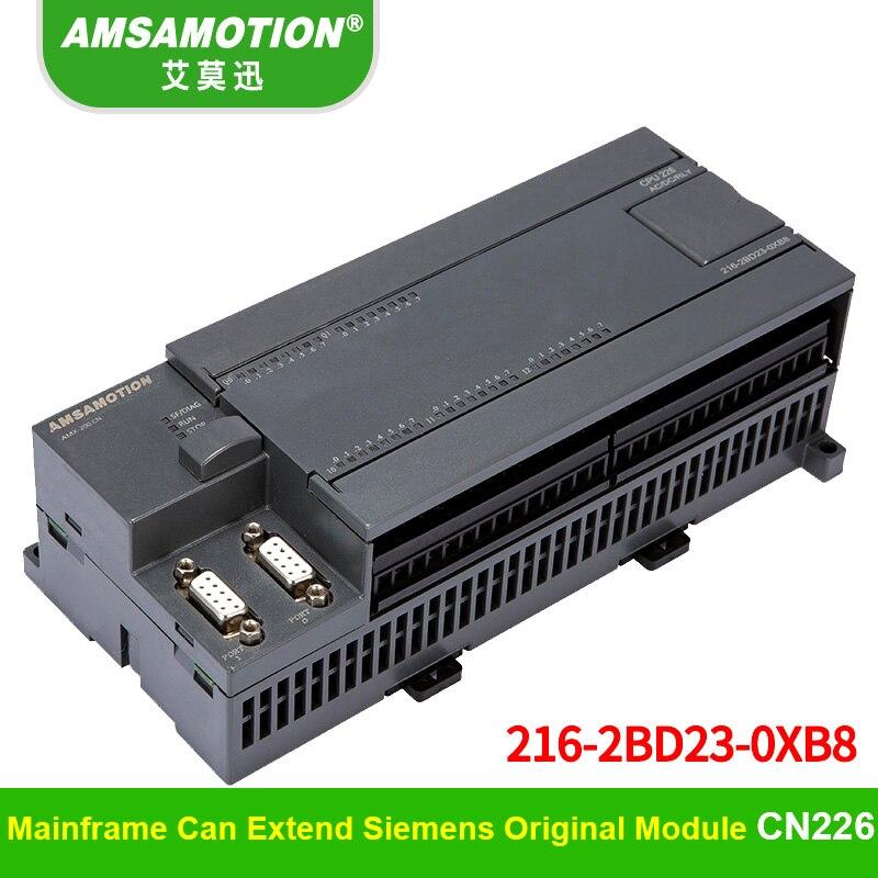 Compatible Siemens CPU226 6ES7 216-2BD23-0XB8 Relay PLC 24I/16O 6ES7 216-2AD23-0XB8 Transistor PLC new twdlcda16drf plc cpu 24vdc 9di 7di relay