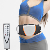 Hot Sale Electric Exercise Heat Loss Weight Vibrating Shape Slimming Massage Belt Fitness Beauty Instrument US
