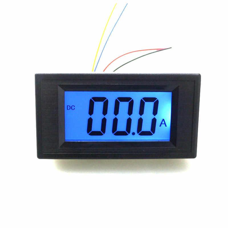Taidacent High-precision 5 Digit volt amp meter DC Ammeter display Digital Display mA Ammeter Digital Ammeter and Voltmeter BLUE