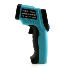1 PC New -50~550 C Digital infrared Thermometer Pyrometer Aquarium laser Thermometer Outdoor thermometer SA675 P50
