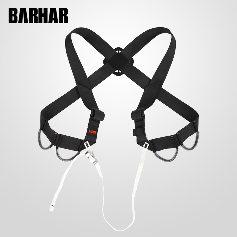Caving Chest Straps Canyoning Shoulder Straps Croll Rescue Harness Rapid Buckle Ascender ...