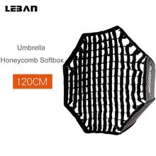 """Godox przenośny 120 cm/47 """"parasol + siatka o strukturze plastra miodu Photo Softbox reflektor do lampy błyskowej"""