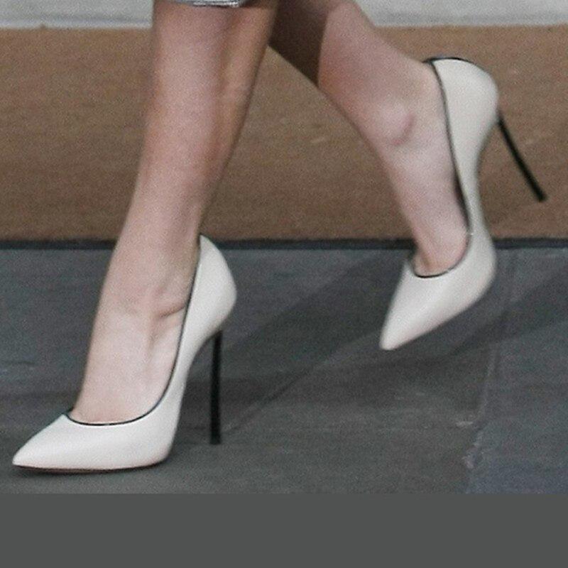 Shofoo En PompesMagnifique GratuiteBelle Pointu ChaussuresL'explosion Blanc Sont Livraison Femmes Chaussures CuirBout ChaussuresTaille34 45 SzMqVpU
