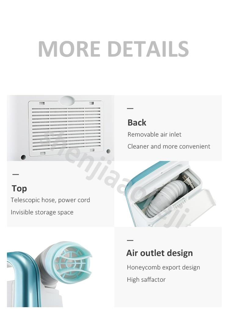 Мини-дизайн Бытовая быстросохнущая Сушилка сушилка из хлопчатобумажных клещей сушилка для одежды легко хранить сушильная сушилка 500 Вт 220 В
