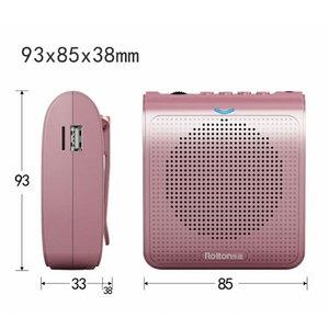 Image 2 - K100 Tragbare Mini Audio Lautsprecher Tragbare Verstärker Stimme Natürlichen Stereo Sound Mikrofon Lautsprecher für Tour Guide Rede