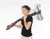 [Metal made] 105cm 1:1 scale The Avengers Thor 1/2 Stormbreaker Tomahawk Hammer GK model toy adult cosplay costume party gift