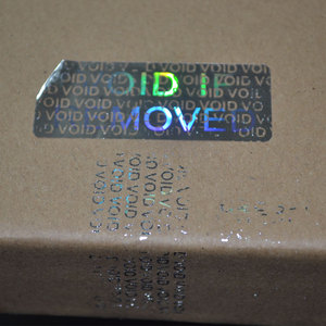 Image 1 - VOID IF REMOVED security Hologram only for one time use Silver color 20mmx50mm Holographic sticker for Packaging Free shipping