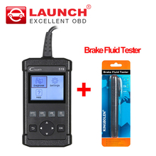 LAUNCH Creader 519 OBD2 Automotive Scanner OBDII Diagnostic-tool as Autel AL519 CR5001 PK creader VI 6 Brake Fluid Tester gift(China)
