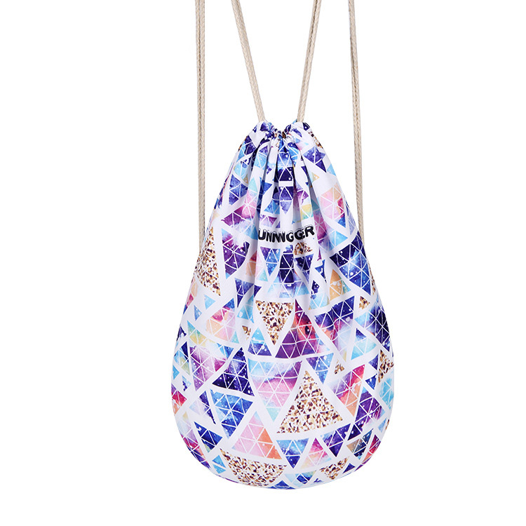 Women Drawstring Bags Galaxy Space Printing men backpack graffiti canvas  school bags Backpack College Students Rucksack Mochila-in Backpacks from  Luggage ...