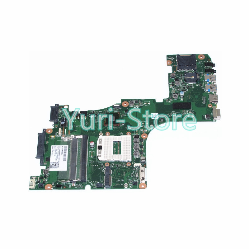 NOKOTION Laptop Motherboard 1310A2555901 For Toshiba Satellite L55 L55-A V000318010 Main Board HM86 GMA HD4400 DDR3L 100% test nokotion laptop motherboard for toshiba satellite a300 a300d v000125610 intel gm965 integrated gma 4500mhd ddr2