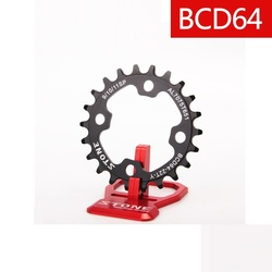 64BCD tarcza wąska szeroka N/W koło 4 śruby 22T 24T 26T 28T dla 1x9 1x10 1x11 prędkość bicycl