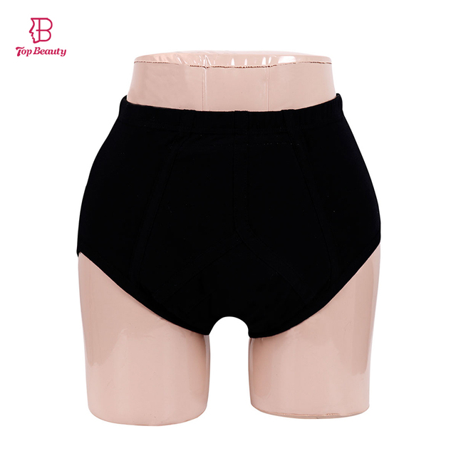Women s Washable Underwear Physique Pants Incontinence Waterproof Pad  Absorbent Cotton Briefs Anti-Leak Sanitary Panty For Adult 157242cd9
