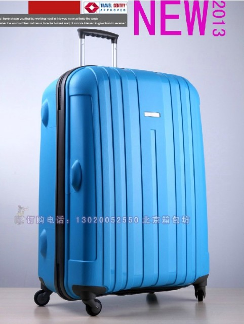 f69e8f7169d4 Free shipping X Ultra-light PP universal wheels trolley luggage quality  travel bag check box suitcase luggage20
