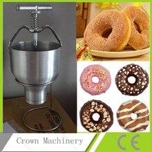 Ручная машина для изготовления пончиков; мини-машина для пончиков; машина для дозатора пончиков