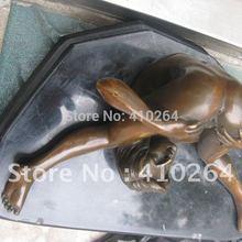 Большие обнаженные эфир увлекательные Красивая голая сексуальная женщина на каменный Бронзовая Статуя скидка 30