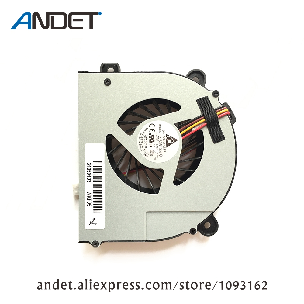New Original CPU Fan For Lenovo G770 G780 Laptop Cooler Radiator 90201147 31050103 DC28000AIA0 original new laptop cpu heatsink with cooler fan for dell alienware m15x avc bnta0815r5h dc 5v 0 5a 5 5cfm dp n pr2h1 0pr2h1