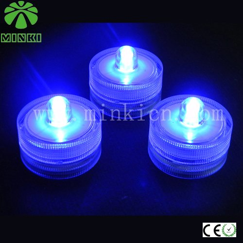 Minki Dc3v Battery Operated Ip65 Led Submersible Light Small Gift Promotional Items