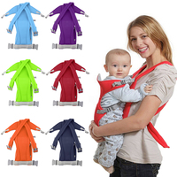 Infant Baby Carrier Newborn Cradle Kids Sling Wrap Pouch Bag Baby Kangaroo New Breathable Adjustable Front