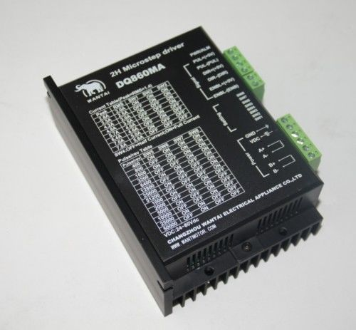 USA FREE SHIP- Wantai Stepper Motor Driver DQ860MA,80V,7.8A,256Micro usa ship