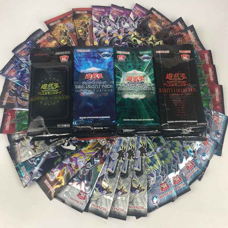 Yu Gi Oh Original Classic English Japanese Traditional Chinese Genuine Discount Card Series (buy Five Packs Free Shipping)