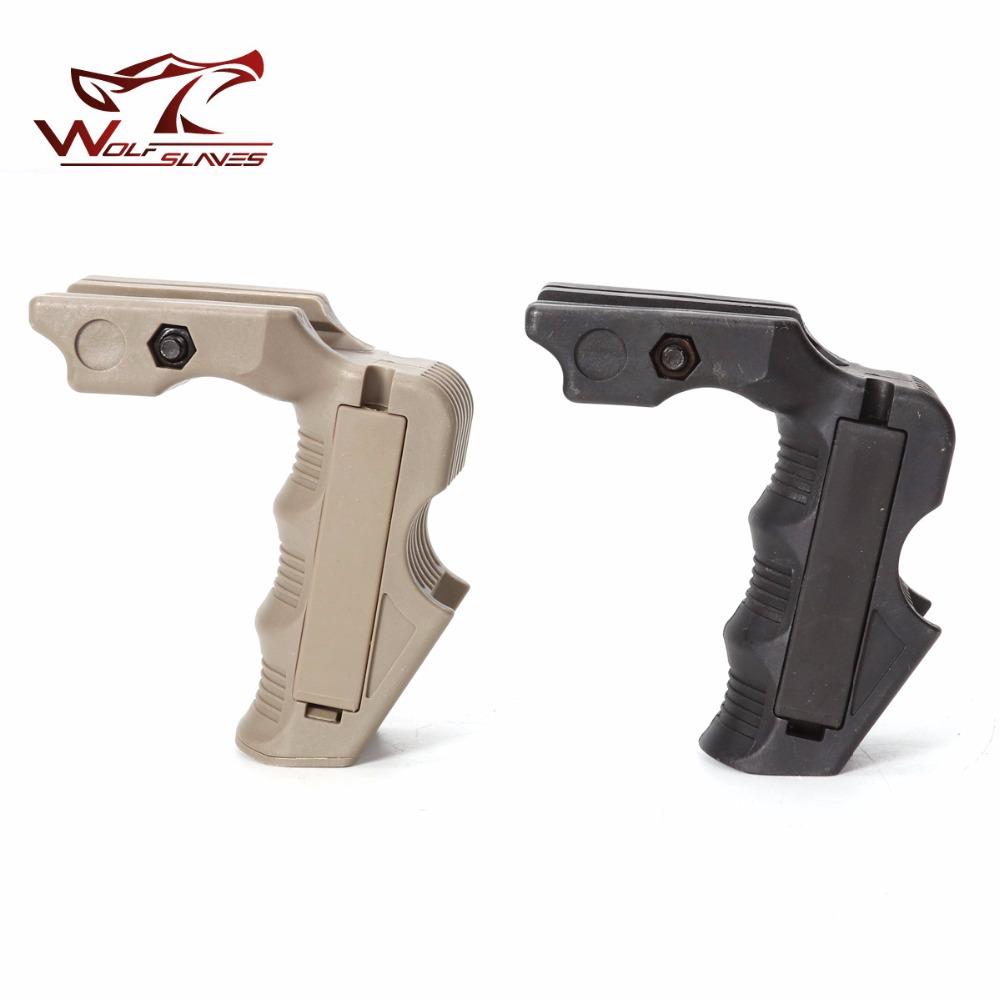 Outdoor Hand Grip Hunting Foregrip Tactical G Un Grip Accessories For Nerf Toy G Un With 20-21cm Guide Rail