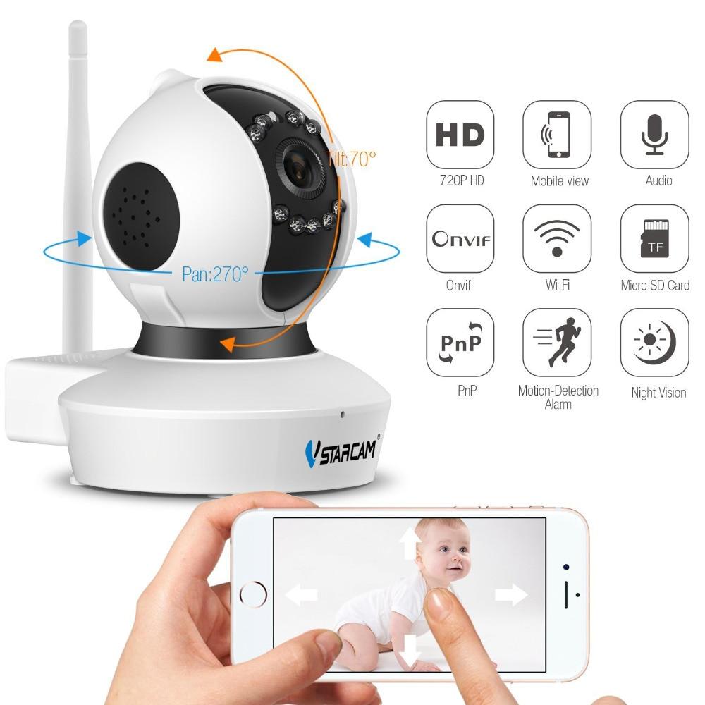 Vstarcam C7823WIP 720 P Wifi IP Camera Met 1.0 Megapixel P2P Draadloze IP Camera 720 P Onvif Mini Indoor IP Camera