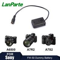 Lanparte FW50 Dummy Batterie Pack für SONY Kamera A7SII A7 A6500 A6300-in Fotostudio-Zubehör aus Verbraucherelektronik bei