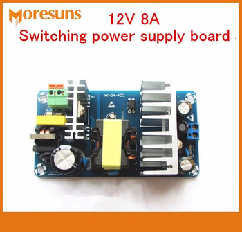 Free Ship 5pcs XK-1208 12V 8A 100W Switching power supply board/AC DC power supply module with industrial switch power supply