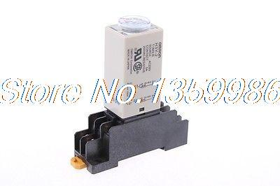 10 set base + time timer relay 8pin H3Y-2 H3Y AC110V 5A 0.1-1.0Seconds 1S us ab relay 700 hnc44az48 0 1s 10min dc48v