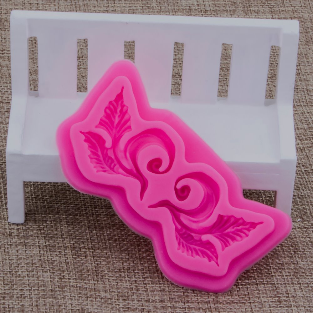 Lace Shape Fondant cake silicone mould Kitchen for pastry candy Gum paste Chocolate Trim molding removal tool set FT-0918