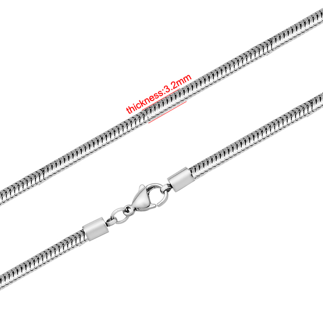 Aliexpress.com : Buy 40 45cm Length Stainless Steel 3.2mm