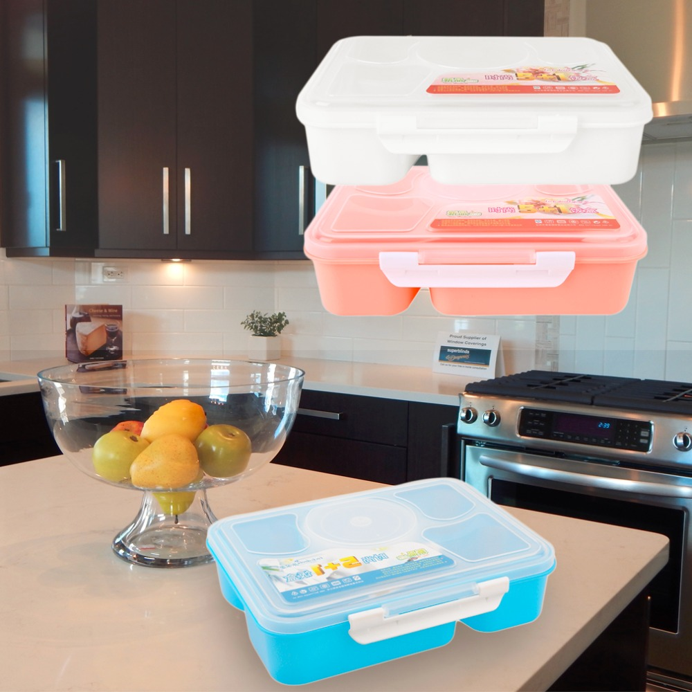 kitchen containers for sale  set  hot sale portable microwave bento lunch box for kids  food