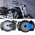 15000 rpm Tacómetro Motocicleta LCD motocicleta Velocímetro Digital Odómetro Universal Moto de Combustible Medidor de Agua Medidor de Temperatura