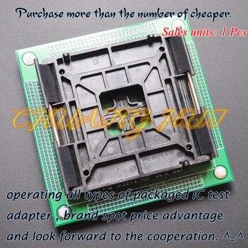 цена на FPQ240 TQFP240 QFP240 LQFP240 ic test socket Pitch=0.5mm FPQ-240-0.5-527 SOCKET