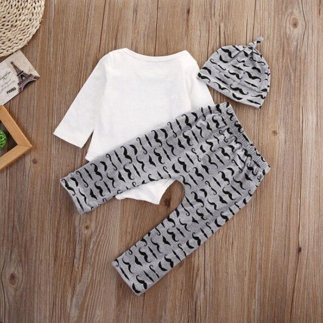 f91fa3473 Aliexpress.com   Buy 3PCS Set Cute Newborn Baby Boy Clothes Lovely ...