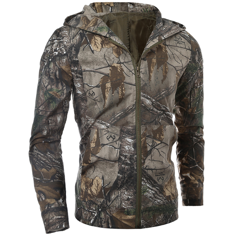 Nouveau Jungle Camouflage vêtements hommes militaire tactique veste Shell Lurker imperméable armée Camouflage capuche manteau mâle Jungle hauts