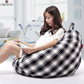 lazy sofa set living room furniture Bean Bag Chair For Living Room Fashion Leisure Styrofoam Canvas Beanbag Sofas