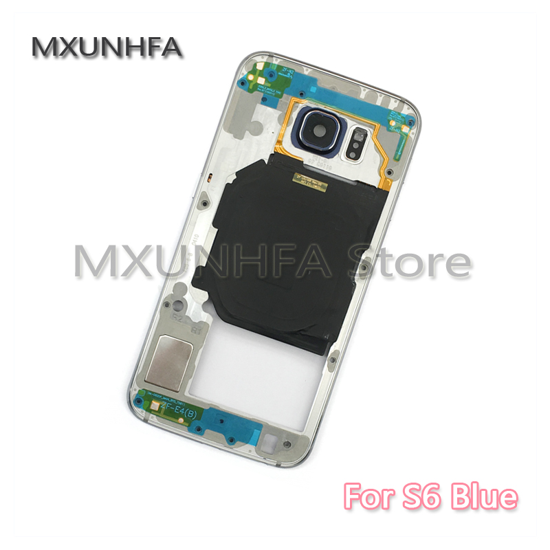 Image 2 - 10pcs/lot Middle Frame For Samsung Galaxy S6 S7 Edge G930 G935 G920 G925 Mid Bezel Metal Plate Housing Chassis Case-in Mobile Phone Housings & Frames from Cellphones & Telecommunications