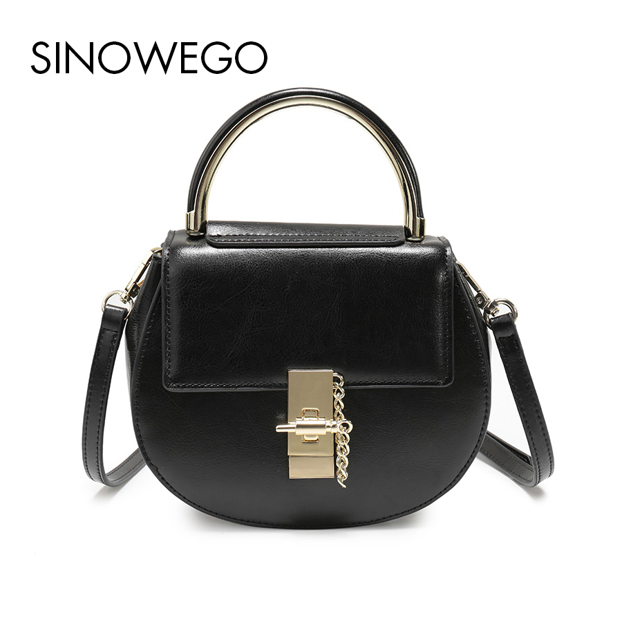 Fashion Top-Handle Bags Small Shoulder Bag Female Designer Women Handbag Genuine Leather Cow Crossbody Bag Women Bag Messenger women cow leather handbags women messenger bags designer crossbody bag women tote shoulder bag top handle bags