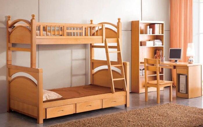 Fuente de alimentaci n escalera debajo de la cama de for Muebles de madera para debajo de la escalera