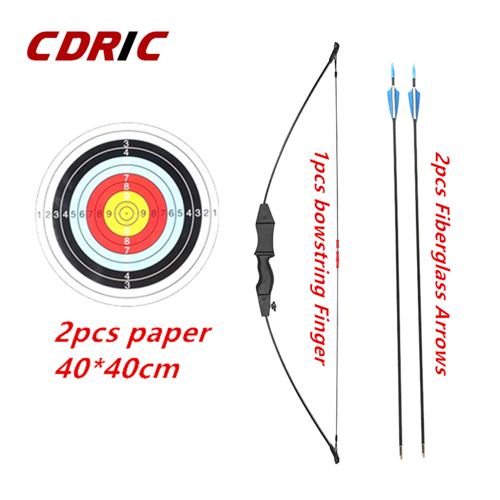 3 Color Kids Bow Kids Bow Basic Takedown Archery Practice Outdoor Game Sports Toy Children Bow Kit  Set