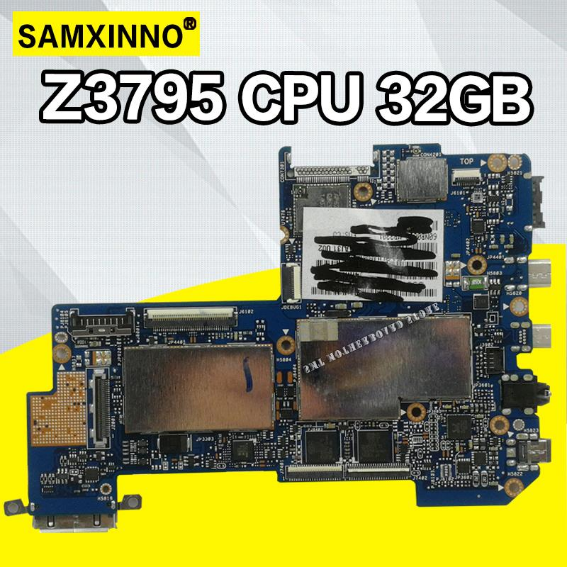 T200TAC Tablet PC Logic Motherboard For ASUS T200TAC T200TA T200T Mainboard 4G /Z3795 CPU 32GB SSD 90NB06I0-R00030