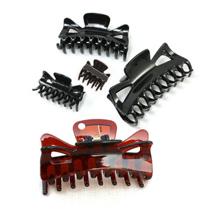 Butterfly Holding Hair Clips Section Woman Girl's Styling Tools Hair Claw Clamps Hairpins Pro Salon Hair Accessories