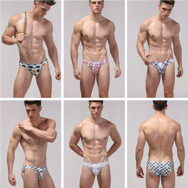 20272c7d830 Summer Mens Underwear Sexy Printing Cotton Men Shorts Low waist mens tanga  briefs-in Briefs from Underwear & Sleepwears on Aliexpress.com   Alibaba  Group