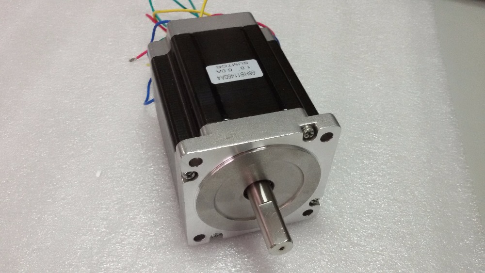 Flange 86mm Nema 34 Stepper Motor 4-Lead 2 Phases 4A 66mm Motor 1.8 degree 3NM/ 429oz.in Motors for CNC Machine вытяжка классическая schaub lorenz sld wb 6500