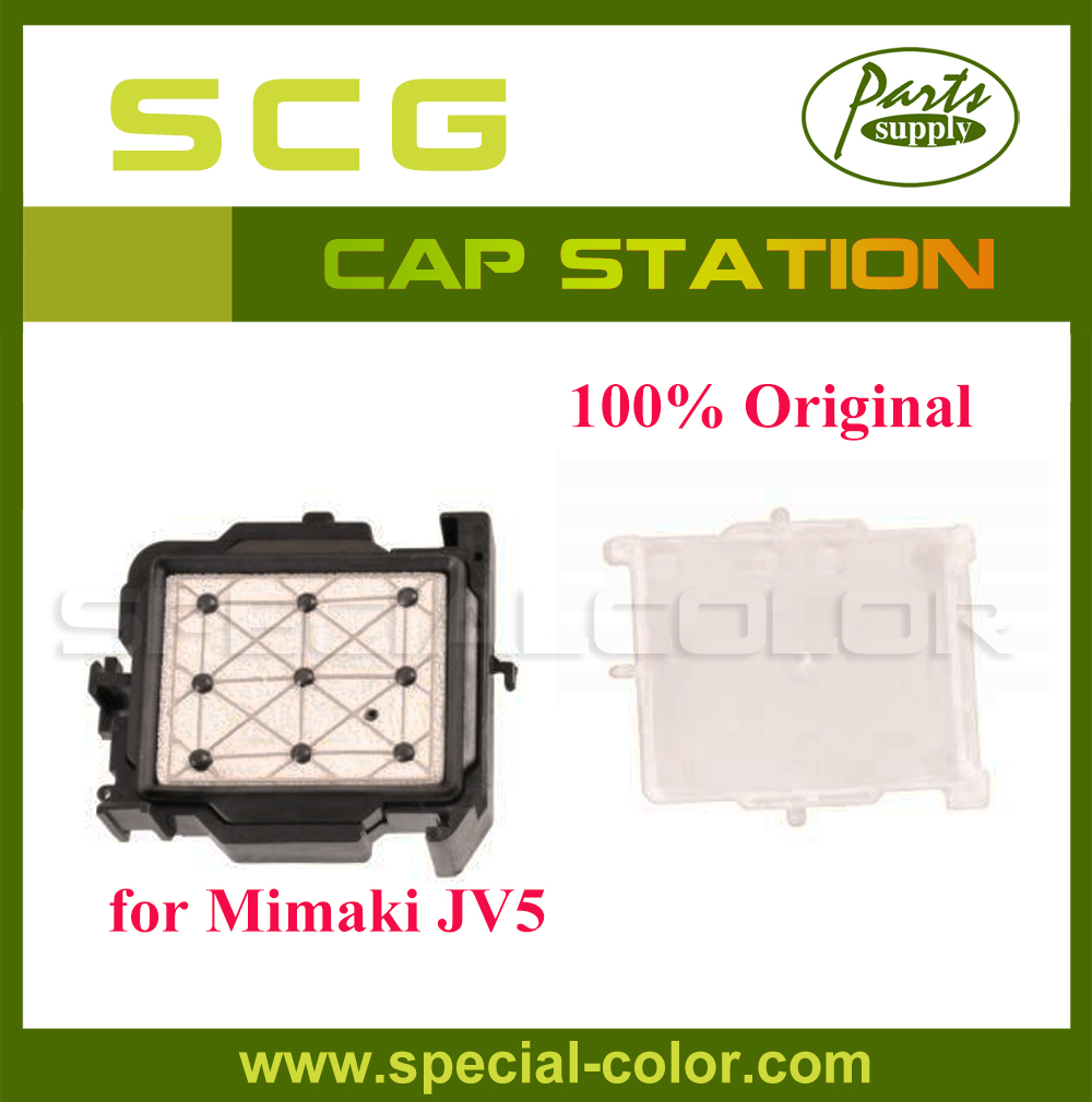 Origin from Japan DX5 Solvent Cap Station Top for Mimaki JV5 Printhead Capping Station